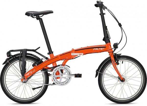 Falter Faltrad F 3.0 Deluxe 20 Zoll Orange Metallic
