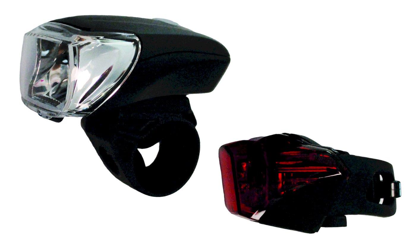 Matrix Fahrrad LED Beleuchtungs-Set BLS 1