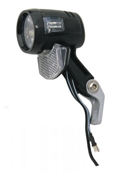 AXA LED-Scheinwerfer Blueline 30 T-Steady Auto für Nabendynamo schwarz