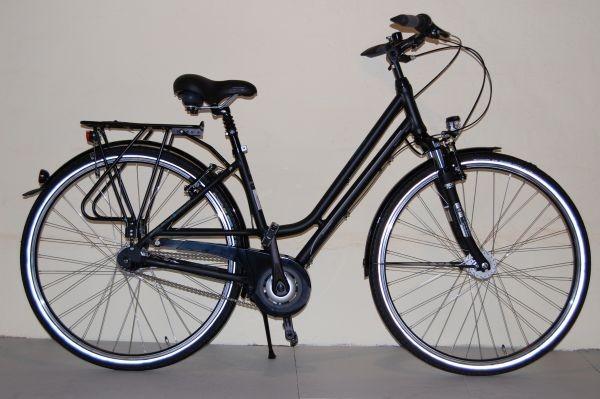 Gudereit Cityrad Comfort 7.0 Damen mattschwarz 53 cm