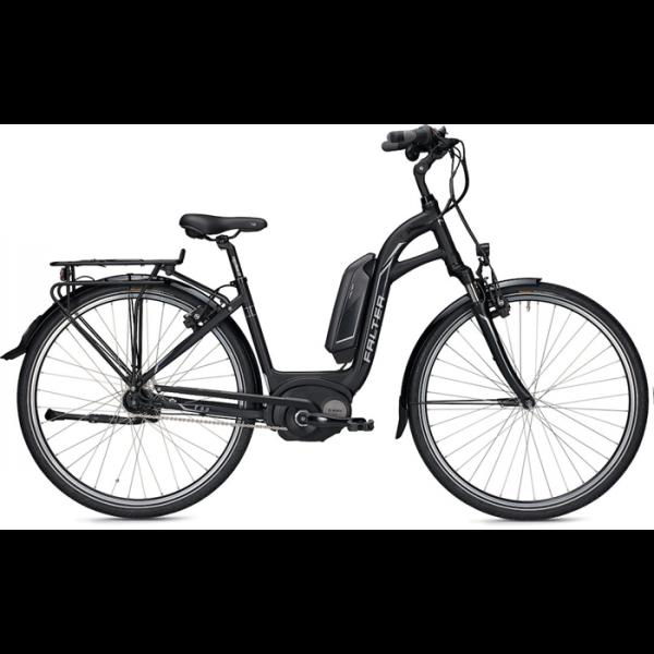Falter E-Bike E 9.0 RT Wave Trend 45 cm Matt Schwarz 400Wh