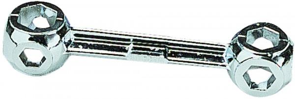 Knochen - Zehnlochschlüssel 6 bis 15mm