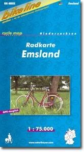bikeline Radkarte Emsland - Verlage Esterbauer