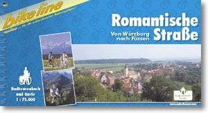 bikeline Radtourenbuch Romantische Straße