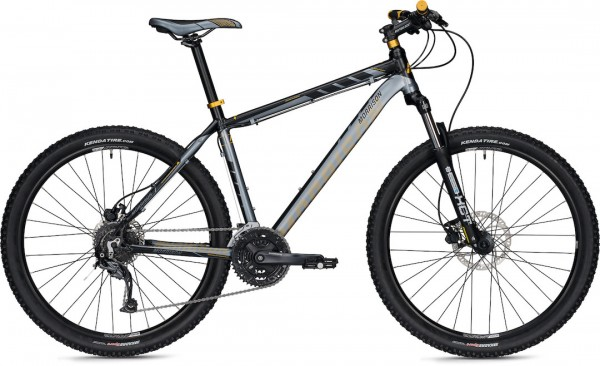 Morrison Mountainbike Blackfoot 48 cm 27,5 Zoll Black/Grey