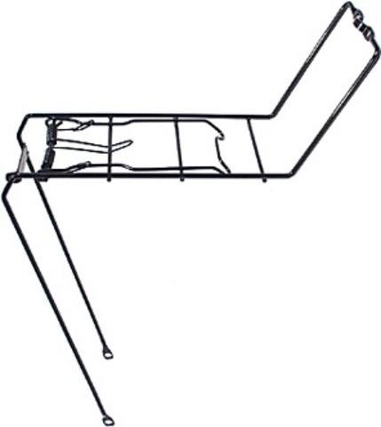 Vorderradträger 20-28 Zoll schwarz