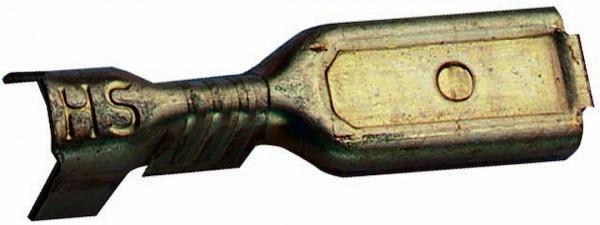 Flachsteckhülse für Aussenanschluss