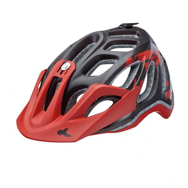 KED Helm Trailon Black Red Matt