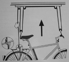 Deckenhalterung BICYCLE LIFT