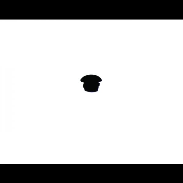 Abdeckkappe Gummi 6mm