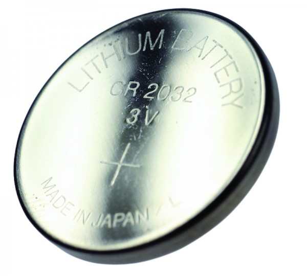 Lithium Batterie CR 2032 für Sigma Tacho ab 2003 Knopfzelle