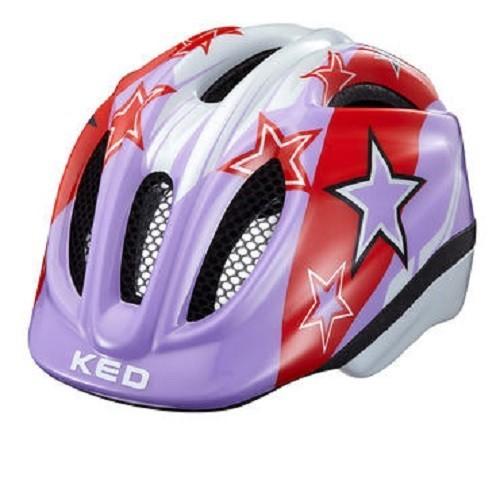 KED Helm Meggy purple Stars