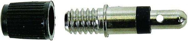 Dunlop/Blitz-Ventile mit Staubkappe