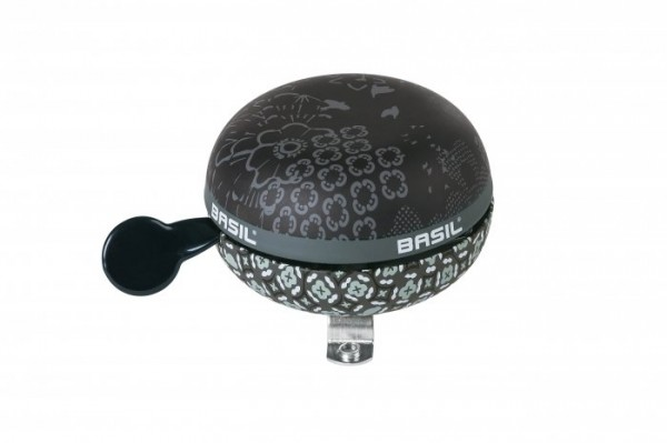 Basil Ding-Dong Glocke Bohème charcoal