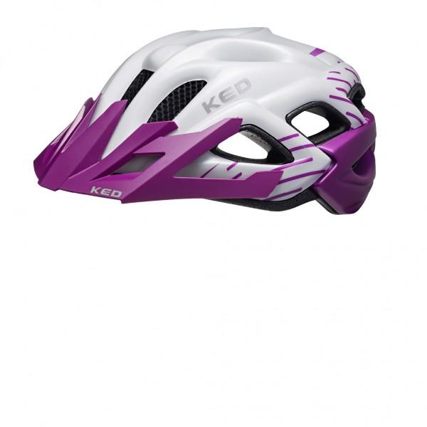 KED Helm Status Junior violet pearl matt 52-59 cm