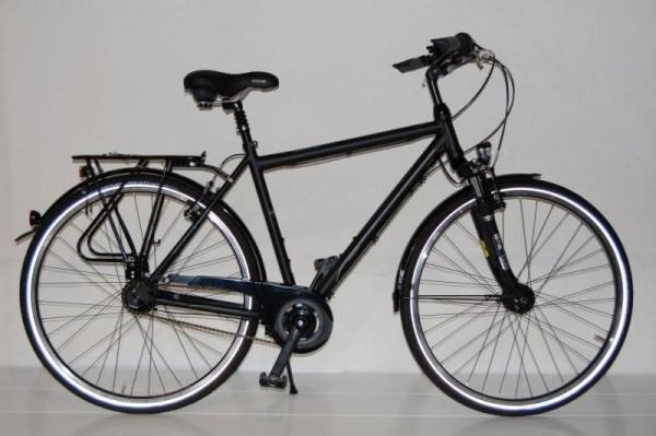 Gudereit Cityrad Comfort 8.0 Herren matt-schwarz 67cm