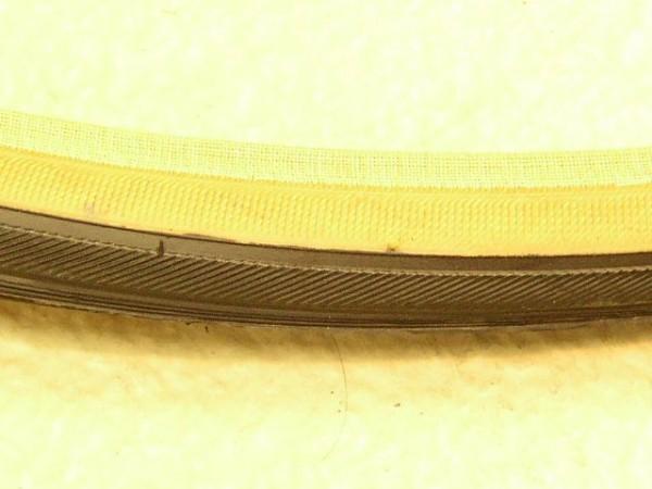 Fahrradreifen 25-630 27 X 1 schwarz/braun