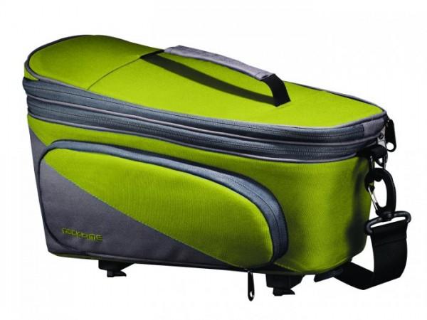 Racktime Gepäckträgertasche Talis Plus trunk bag lime green/stone grau
