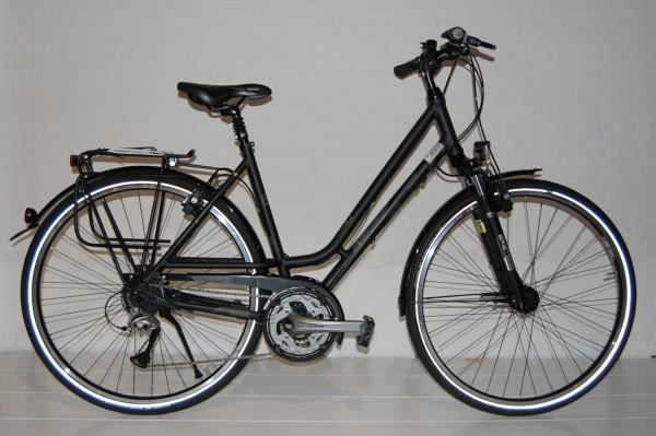 Gudereit Trekkingrad LC-45 Damen matt-schwarz 53 cm