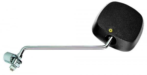 B+M Spiegel mit schwarzem Kunststoffgehäuse 922/16P