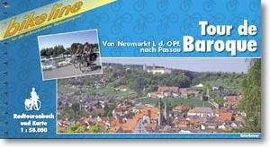 bikeline Radtourenbuch Tour de Baroque von Neumarkt nach Passau