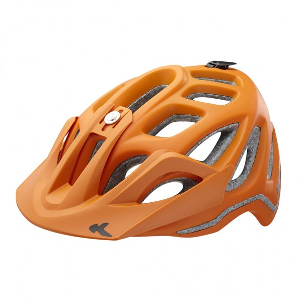 KED Helm Trailon orange matt