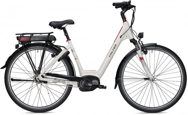 Falter E-Bike E 9.5 RT Wave 55 cm Weiß