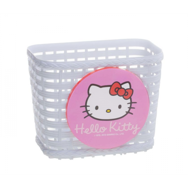 Hello Kitty Lenkerkorb Kinderkorb vorn weiss
