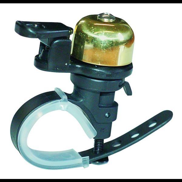 TAQ-33 Mini Glocke Messing für Lenkerdurchmesser 22,2-31,8 mm