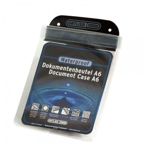 Doku-Beutel, transparent, DIN A6