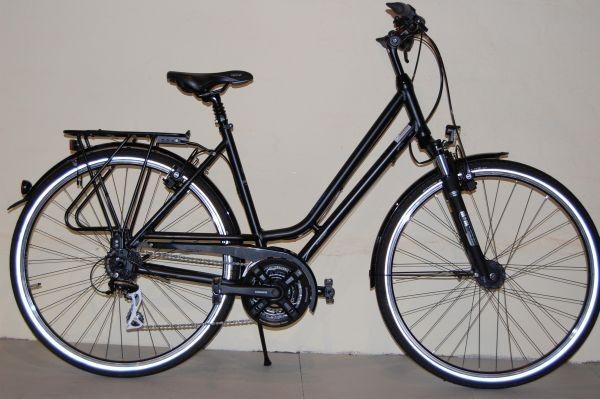 Gudereit Trekkingrad LC-30 EDITION Damen matt-schwarz 45 cm