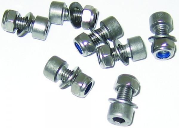 Inbusschraube M 5-16 Edelstahl - Schutzblechschrauben