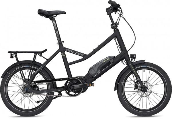 Falter E-Bike E-COMPACT 1.0 Unisex 20 Zoll schwarz-matt