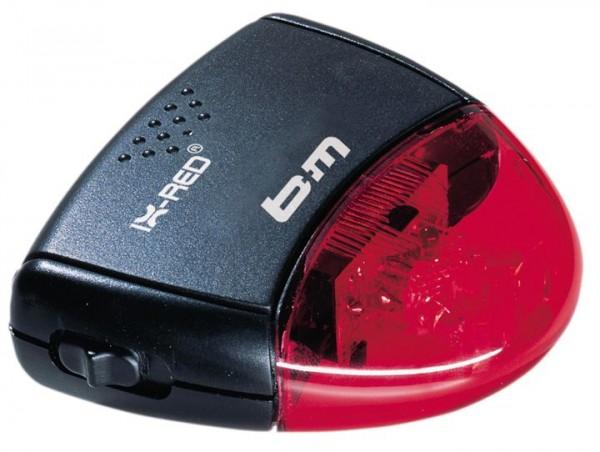 B+M Batterie RücklichtIX-RED Diodenrücklicht