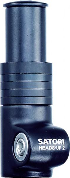 Matrix Höhen-Adapter für Ahead-Vorbau schwarz