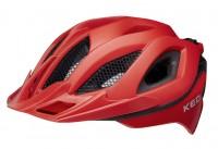 KED Helm Spiri II fiery red matt