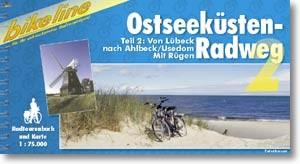 bikeline Radtourenbuch Ostseeeküsten-Radweg 2 von Lübeck nach Usedom