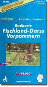 bikeline Radkarte Fischland Darß Vorpommern