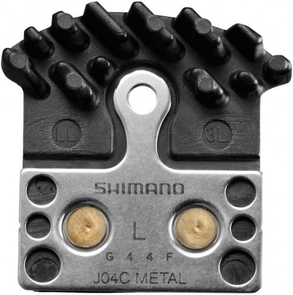 Shimano Scheibenbremsbeläge mit Kühlrippen Metall