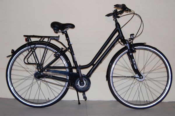 Gudereit Cityrad Comfort 7.0 Damen 45 matt-schwarz