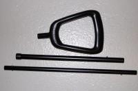 Puky Schiebestange für Dreirad 22mm schwarz