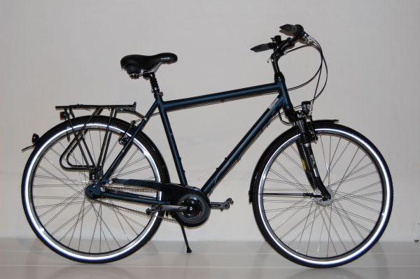 Gudereit Cityrad Comfort 7.0 Herren matt-blau 48cm - 2016