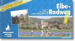bikeline Radtourenbuch Elbe-Radweg 1 von Prag nach Magdeburg