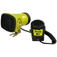 Hupe Koja, Sirene mit Mikrofon 3 Sounds