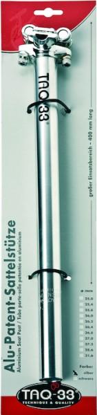 TAQ-33 Patentsattelstütze 31,6 Aluminium silber