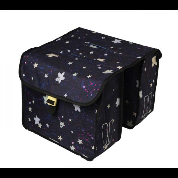 Basil Doppelpacktasche Stardust nightshade