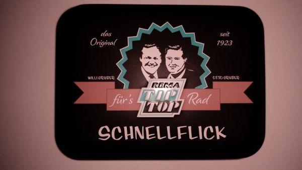 Flickzeug Tip Top Nostalgie in Blechkasten