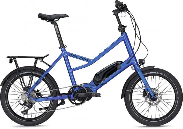 Falter E-Bike E-COMPACT 2.0 Unisex 20 Zoll blau-glänzend