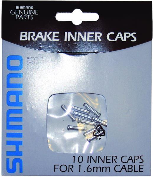 Shimano Endnippel für Seilende Bremsseil - 10 Stück