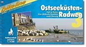 bikeline Fahrradkarte Ostsee-3 Ostseeküsten-Radweg Polen